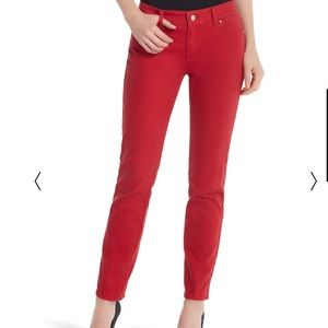 WHBM red pants